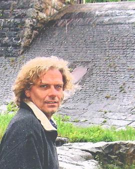 Jan Jörnmark på Papyrusområdet