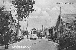 Mölndal på 1910-talet Gamla Mölndal