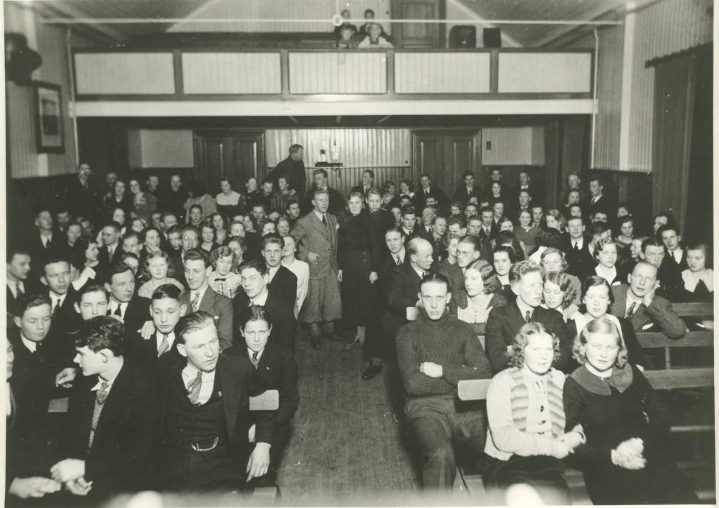 Fest i Gamla Mölnlycke Folets Hus