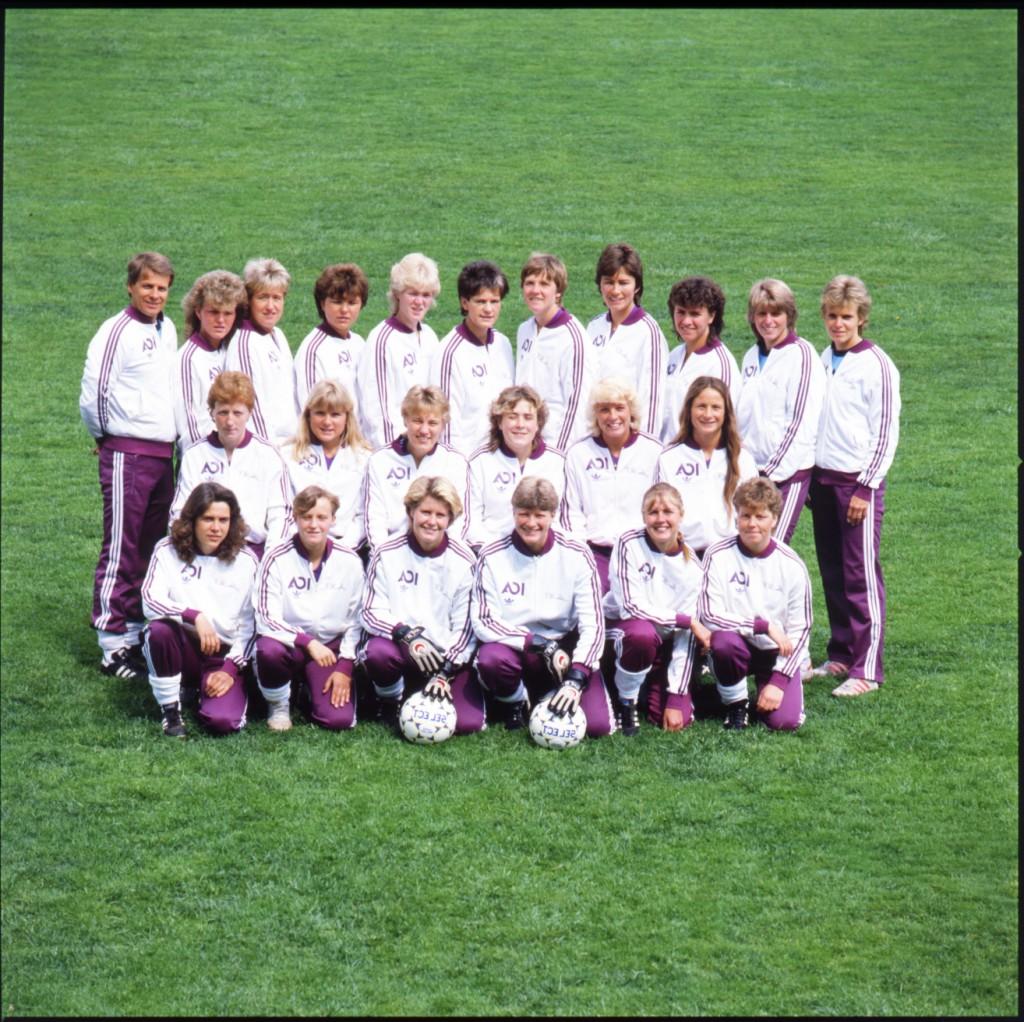 Jitex BK ca 1983. Fotograf: Okänd, fotboll