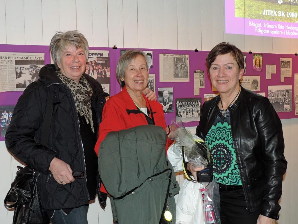 Fr. v. Vivianne Nilsson, Anne Lundh och Anette Börjesson. Foto: Claes-J Meurling.