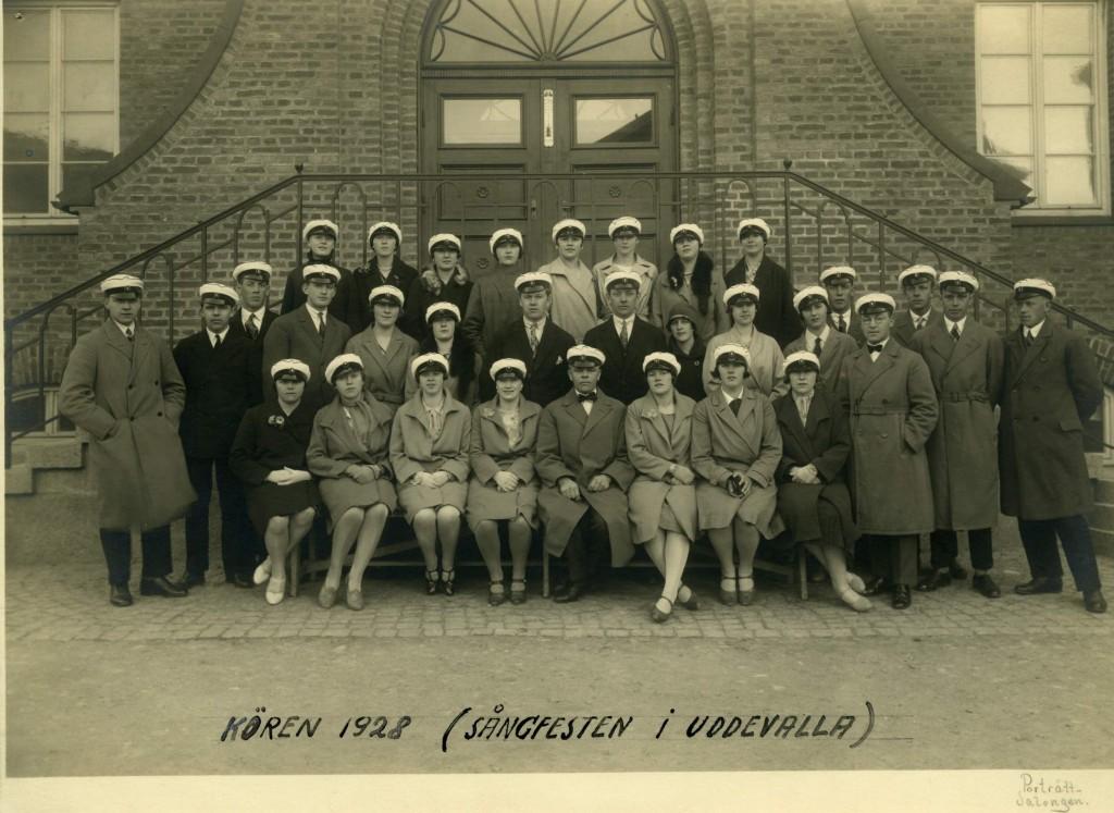 Västsvenska sångfesten i Uddevalla, 1928, Mölndals körsällskap
